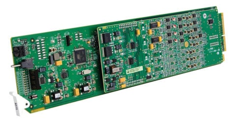 Cobalt 9275-4C HD/SD-SDI 4 Channel Audio De-Embedder with Analog Audio CB-9275-4C