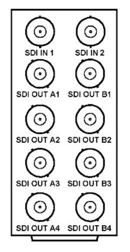 Cobalt RM20-9003-A 20 Slot Frame Rear I/O Module for 9003 CB-RM20-9003-A