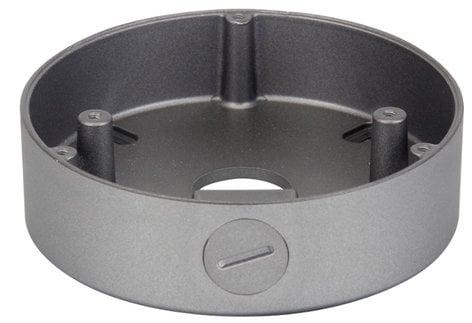 Speco Technologies CVCJBD  Small Round Junction Box in Silver CVCJBD