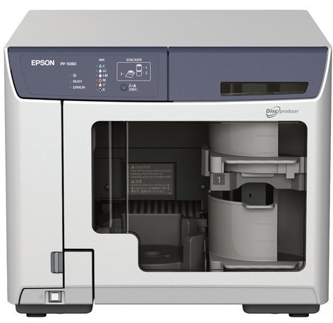 Epson Discproducer PP-50BD Blu-ray Disc Producer and Disc Printer PP50-BD