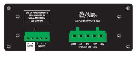 Atlas Sound TSD-PA10VG 10W Mono Power Amp TSD-PA10VG