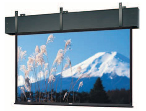 Da-Lite 81793  12' x 12' Professional Electrol® - Square Format Ceiling Recessed Electric Screen 81793