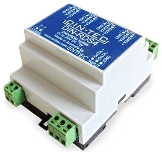 Enttec 71004-ENTTEC DIN-RDS4 4 Port DMX/RDM Isolated Splitter 71004-ENTTEC