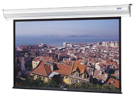 """Da-Lite 88383L 200"""" Diagonal Contour® Electrol® - 4:3 Video Format Wall and Ceiling Mounted Electric Screen 88383L"""
