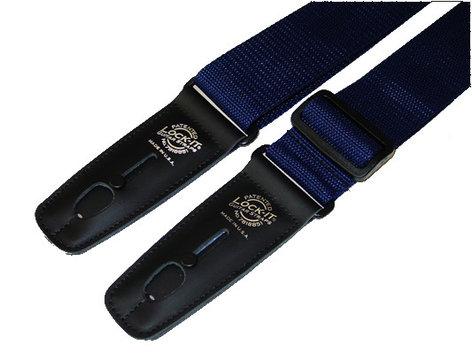 "Lock It Straps LIS-004-P2-NVYBLU 2"" Navy Blue Polypro Strap with Black Locking Ends LIS-004-P2-NVYBLU"