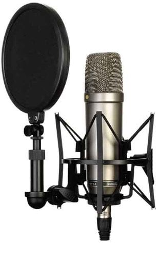 Rode NT1-A-COMPLETE Complete Recording Bundle with NT1-A Studio Microphone & Accessories NT1-A-COMPLETE