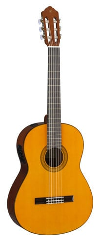 Yamaha CGX102 Natural Finish Classical Guitar with System 68N Preamp CGX102