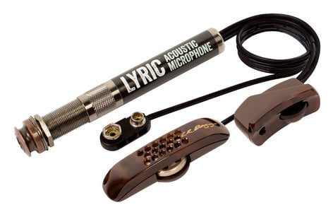 LR Baggs Lyric Acoustic Guitar Microphone with Preamp LYRIC