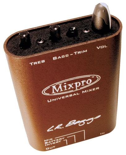 LR Baggs Mixpro Dual Channel Beltclip Preamp MIX-PRO