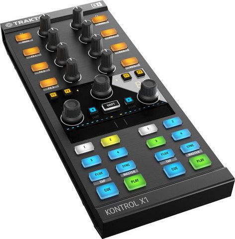 Native Instruments Traktor Kontrol X1 MK2 DJ Performance Controller TRAKTOR-KONTROL-X1-2