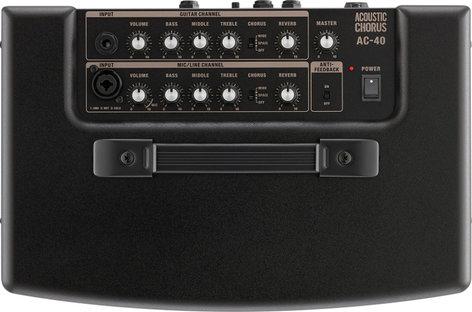 "Roland AC40 2-Ch 40W 2x6.5"" Acoustic Guitar Amplifier with Chorus AC40"