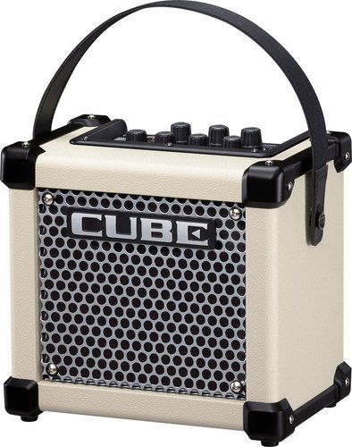 """Roland MICRO CUBE GX 3W 1x5"""" Battery-Powered Modeling Combo Guitar Amplifier MCUBE-GXW"""