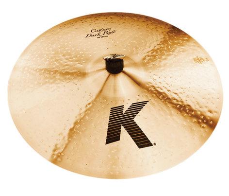 "Zildjian K0965 20"" K Custom Medium Thin Dark Ride Cymbal in Natural Finish K0965"