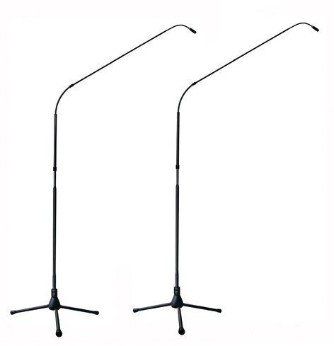 Earthworks FW730/HC-TPBmp Matched Pair of FlexWand 7 ft Hypercardioid Microphones with Tripod Bases FW730/HC-TPBMP