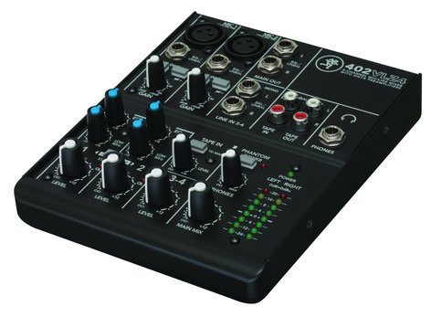 Mackie 402VLZ4 4-Channel Ultra Compact Mixer 402-VLZ-4