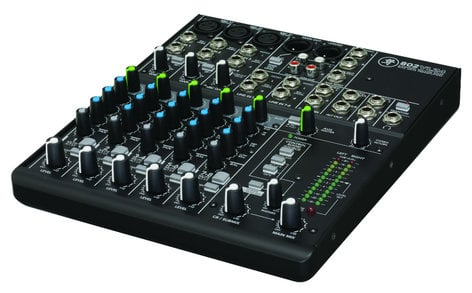 Mackie 802VLZ4 8-Channel Ultra Compact Recording Mixer 802-VLZ-4