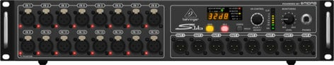 Behringer Digital Snake S16 I/O Box with 16 Microphone Preamps and 8 XLR Outputs S16-BEHRINGER