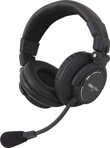 Datavideo HP2A  Dual-Ear Headset with Microphone for ITC-100 Intercom System HP2A