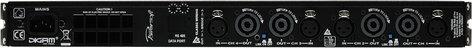 Powersoft Advanced Tech M28Q 700W @ 4 ohms 4-Channel Power Amplifier M28Q
