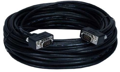 TecNec TN-UTHD15-35 35 ft. UltraThin HD15 VGA/UXGA Tri-Shield Cable TN-UTHD15-35