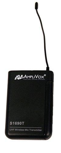 AmpliVox S1690T Wireless 16-Channel UHF Bodypack Transmitter S1690T