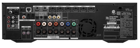 Harman Kardon AVR1710 700-Watt 7.2-channel Networked A/V Receiver with AirPlay and Bluetooth Technology AVR1710
