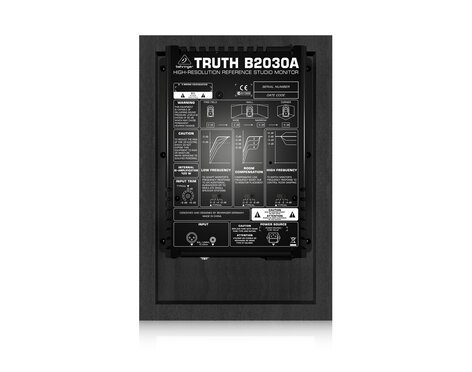 """Behringer TRUTH B2030A Active 2-Way Reference Studio Monitor with 6-3/4"""" Woofer B2030A-SINGLE"""