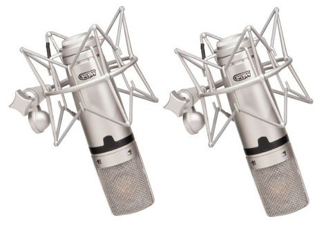 Miktek Audio C7MP Matched Pair of Large Diaphragm Multi-Pattern FET Condenser Microphones C7MP