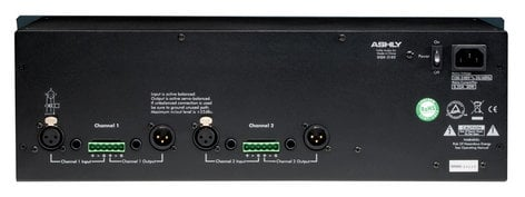 Ashly GQX-3102 2-Channel 31-Band Rackmount Graphic Equalizer GQX3102
