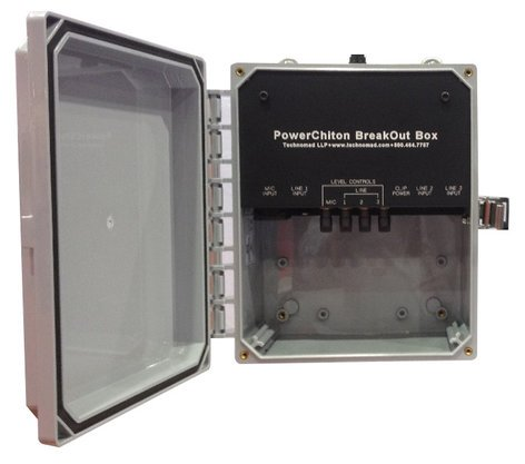 Technomad 1550 Powerchiton Breakout Box  1550-TECHNOMAD
