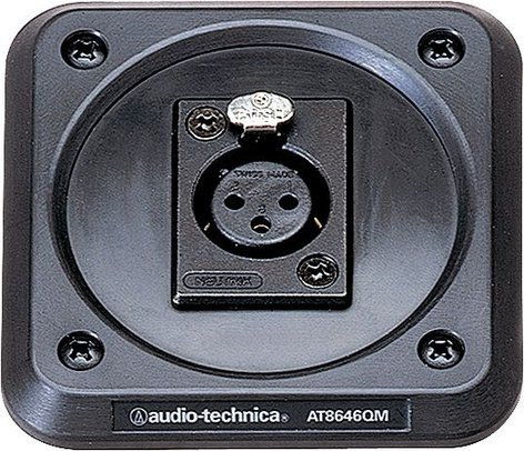 Audio-Technica AT8646QM Shockmount Plate for UniPoint Gooseneck Microphones AT8646QM