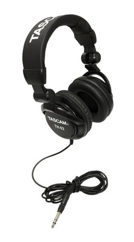 Tascam TH-02 Multi-Use Studio Grade Headphones in Black TH-02