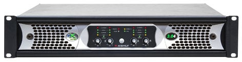 Ashly nXE3.04 4x3000W 2-Ohm Networkable Power Amplifier NXE3.04