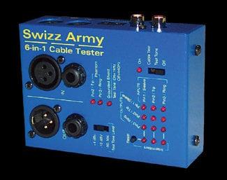 Ebtech SWIZZ-CT Cable Tester 6 in 1  SWIZZ-CT