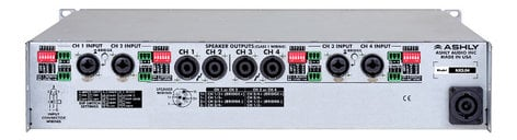 Ashly nXp3.04 4-Channel 2000W @ 4 Ohm Network Power Amplifier with DSP NXP3.04