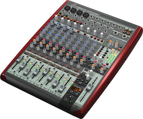 Behringer XENYX UFX1204 12-Input USB and Firewire Mixer XENYX-UFX1204
