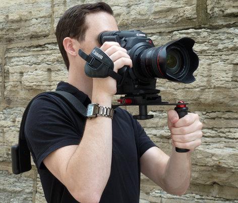 CameraRibbon RIG-QRC Shoulder Rig with Quick Release for Canon RIG-QRC
