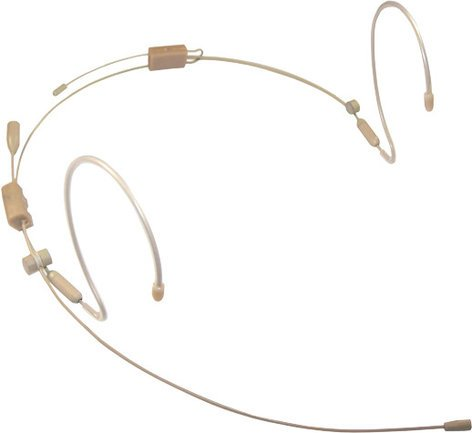 Provider Series PSM1-AUT Headworn Condensor Micropone with Audio Technica 4-pin Connector in Tan PSM1-AUT