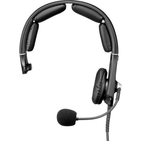 Telex MH300-DM-A4M Single-Side Headset With an A4M Connector MH300-DM-A4M