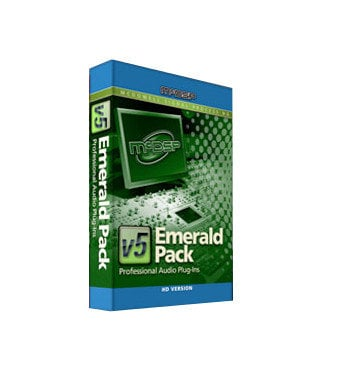 McDSP Emerald Pack Upgrade for 3 McDSP HD PlugIns to Emerald Pack EMERALD-PACK-MU3EP