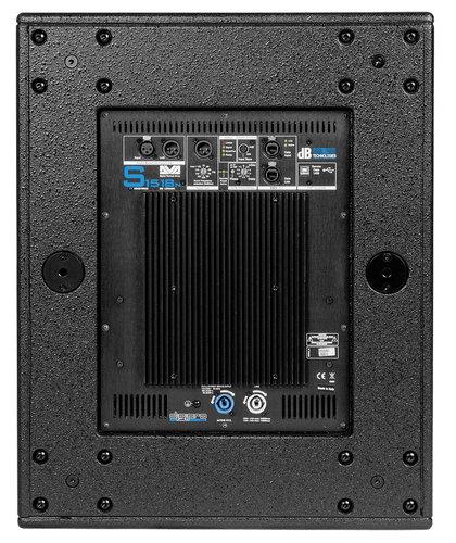 """DB Technologies DVA-S1518N 18"""" 2500W Active Subwoofer DVA-S1518N"""