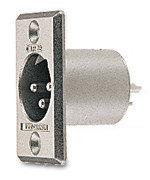 Canare XLR3-32  ITT Cannon XLR Male Receptacle  XLR3-32