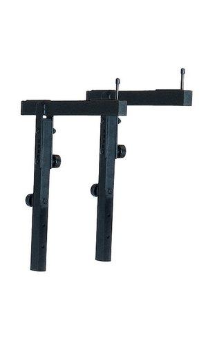 K&M Stands 18881-BLACK  Stacker A in Black 18881-BLACK