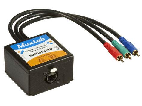 MuxLab 500056-Pro Component-Composite Video ProAV Balun MUX-500056
