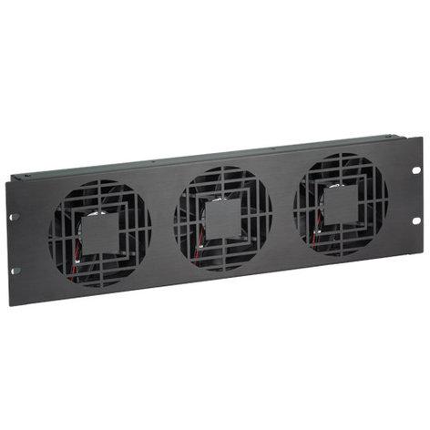 Chief Manufacturing NAF33QBA  3RU Quiet Triple Fan Panels NAF33QBA