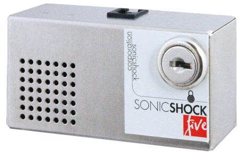 Sonic Shock SONICSHOCK5-C Sonic Shock 5 Commercial Kit Anti-Theft Alarm SONICSHOCK5-C