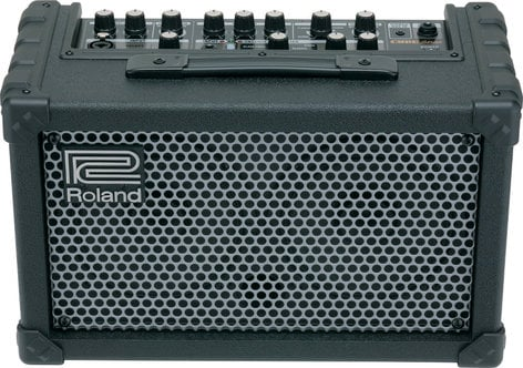 Roland CUBE Street Battery-Powered Stereo Guitar/Vocal Modeling Amplifier CUBE-ST