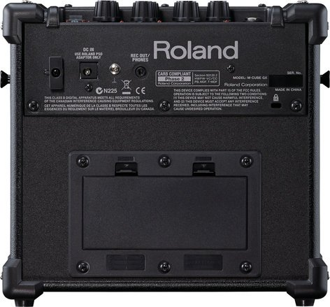 """Roland Micro Cube GX 3W 1x5"""" Battery-Powered Modeling Combo Guitar Amplifier in Limited Edition Red MCUBE-GXR"""