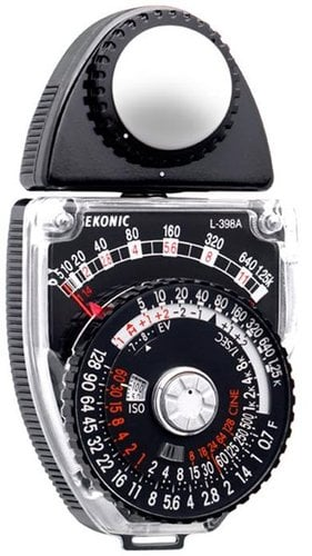 Sekonic L-398A Studio Deluxe III Analog Light Meter 401-399