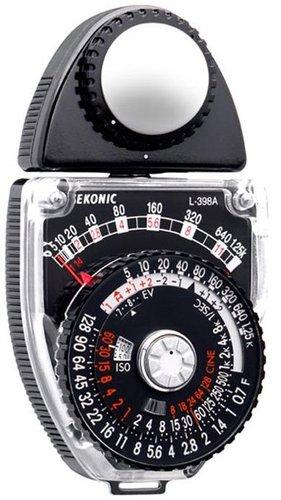 Sekonic 401-399 L-398A Studio Deluxe III Analog Light Meter 401-399